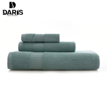 SDARISB 3 PCS Cotton Body Hand Face Bath Towel Sets Sport Kitchen Towel Adult Swimming Towels Luxury Gift Quality Home Textile