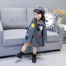 Buy Autumn Winter Lovely Trench Jacket Children's Girl Warm Outerwear Coats Fashion Clothing Kids Girls Jackets Clothes 3-10T for $26.98 in AliExpress store