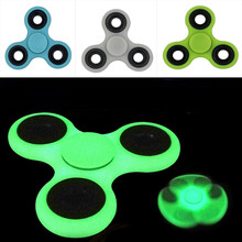 Buy Glowing Fidget Spinner Triangle Single Finger Decompression Gyro Hand Spinner Fingertip Gyro ADHD Anti Stress Relief Focus Toys for $2.03 in AliExpress store