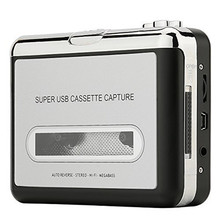 Beautiful Gift 100% Brand New 2016 Audio Music Player Tape to PC USB Cassette to MP3 CD Converter Capture Free Shipping Dec08