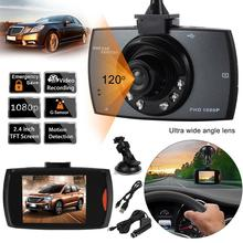 "2.4"" LCD 720 HD Car Auto Vehicle DVR Camera Sensor Video Recorder Dash Cam Camcorder"