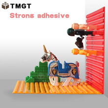 TMGT 1PC 32*32 Self Adhesive Baseplate Brick Building Plates Compatible With Most Major Brands of Plastic Building Blocks Toys