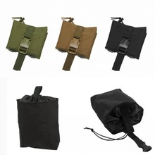 Drop-Magazine-Pouch Hunting-Tool Folding-Dump Paintball Recovery Airsoft Military Tactical-Molle