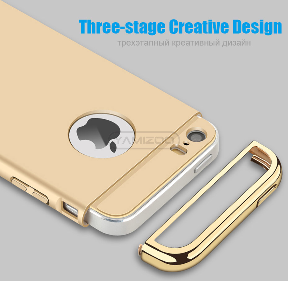 YAMIZOO 5s For iPhone se 5 Case 360 protection Phone Cases On Luxury Full Hard Plastic Coque Back Cover For iPhone 5s se 5 Case (7)