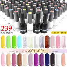 CANNI Gel Varnish 15ml New Pack Factory Supply 240 Colors Nail Art Beauty Gel Paint Design 62507 Soak off UV LED Nail Gel Polish