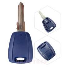 Blue Blanks Car key shell For Fiat Remote Key Fob Replacements Transponder Blank Key case for grande punto ducato with fiat logo