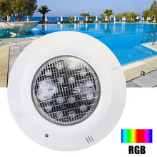 Outdoor Lighting Waterproof Led Swimming Pool Light IP68 AC12V LED Lighting RGB led Underwater Pond Led Lights Pool Accessories(China)