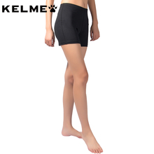 KELME 2017 Women Tights Shorts High elasticity Volleyball Yoga Fitness Gym Training Trousers Running Shorts For Woman K15Z436(China)