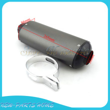 38mm Exhaust Muffler For 125cc 140cc 150cc 160cc YX ZS CRF KLX SSR IMR Dirt Pit Bike(China)