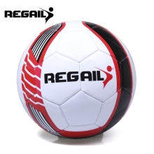 REGAIL Size 5 PU Shooting Star Shape Training Football Soccer Ball Outdoor Game