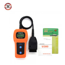 U380 OBD2 Diagnostic Tool Scanner Accurate Code Reader For Toyota Honda Nissan high quality