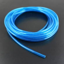 F14387 1M Gas Pipes Tube 4.5*3mm Blue for Hammer Fuel Tank Methanol Gasoline RC Model Aircraft Helicopter Boat Car Plane(China)