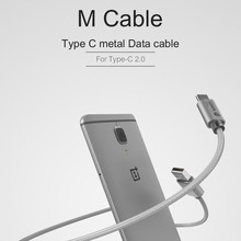 Original Wsken USB Type C Type-C 2.0 Fast Charging & Sync Metal Data Charger Cable for Huawei P9 MacBook Xiaomi 4C 5 Note7