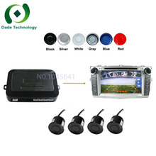 High quality Dual Core Car Video Parking Sensor, Reverse Backup Radar System and Step-up Alarm,connect any LCD Monitor or DVD