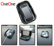 OneOne Universal Car Dashboard Silicone Rubber Skidproof Phone Holder Anti-slip pad by free shipping wholesale 100pcs/lot(China)