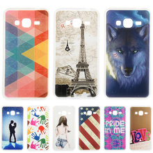 Fashion Personality Painted patterns Soft TPU Back cover For Samsung Galaxy J3 Cell Phone Protective Case for Samsung Galaxy J3