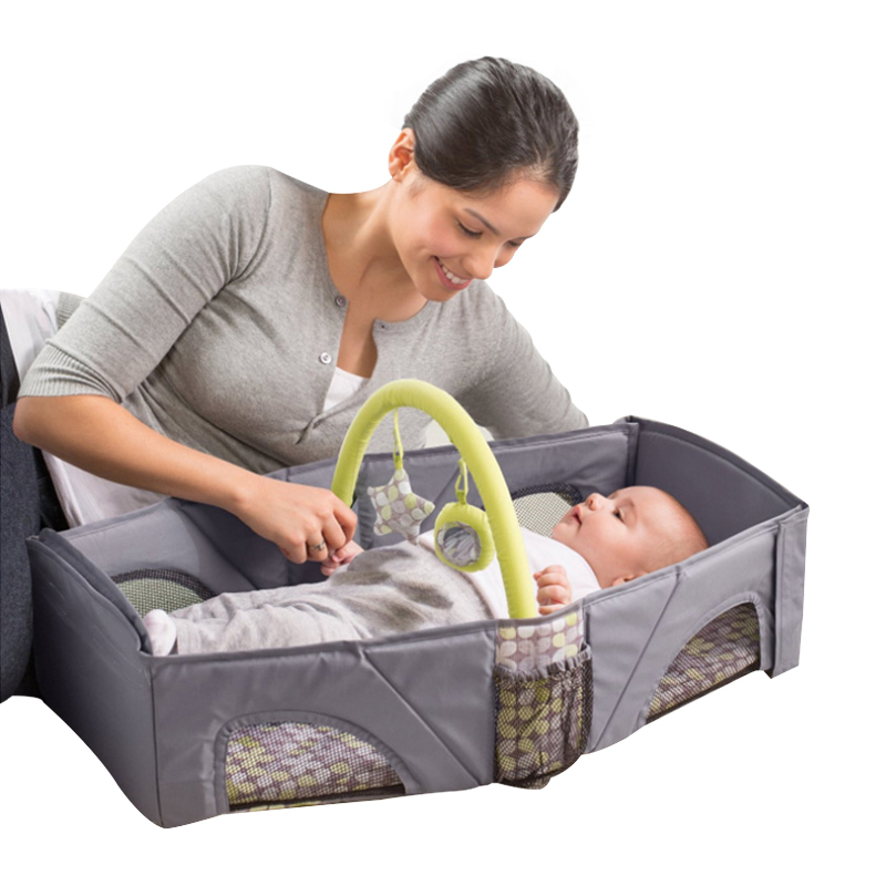 Baby Cribs Bedding Travel bed Baby outdoor portable bed Multi-function baby portable travel Bad folding newborns small play bed<br>