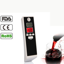 Factory patent supply CE Rohs Red Backlight Alcohol Tester Breathalyzer Tester with Double LCD Display Digital(China)