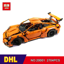 DHL LEPIN 20001 technic series 911 Model Educational Building Kits Blocks Bricks Boy Toys Compatible 42056 Car Gifts - Mr. Grass Toy Store store