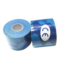 5cm*5m Elasti Cotton Roll Adhesive Kinesio Tape Sports Injury Muscle Strain Protection Tapes First Aid Bandage Support  2017