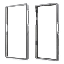 Case For Sony Xperia Z5 Bumper Frame 2-in-1 Slide-on Aluminum Alloy Metal Bumper Rim Cover Shell for Sony Xperia Z5 / Z5 Dual