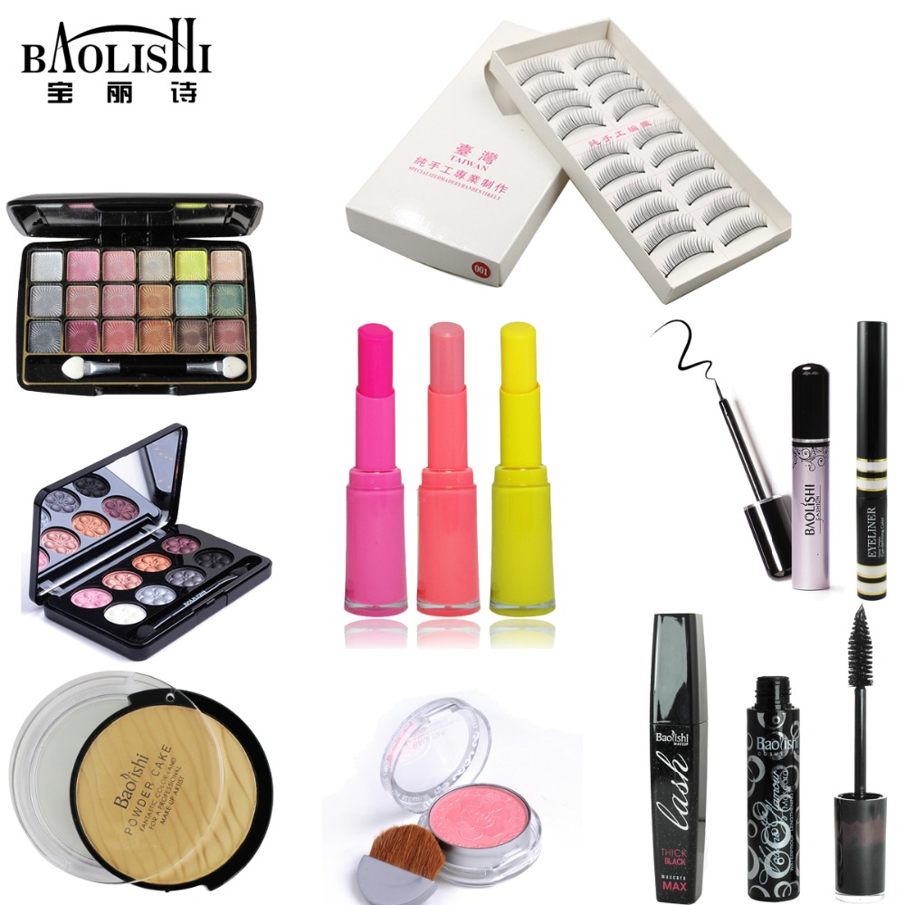 Baolishi New Direct Selling Set Maquillaje Full Professional Kit Baolishi 12pcs Makeup Set Best Tools Complete Cosmetic Kit <br>