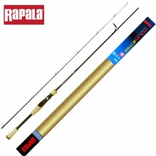 Rapala 2017 New FSL SP60L2/ SP66L2/ SP70L2 Fourstar Fishing Rods  Carbon 2 Sections 3A Soft Wooden Handel Spinning Fishing Rod