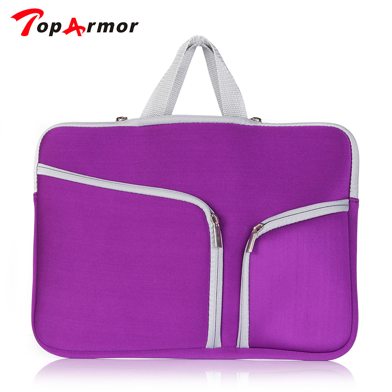 TopArmor Newest Hot Sleeve Portable Case Bag For MacBook Air 11 13 Pro 13 15, 14,15.6 Laptop bag Notebook Bag<br><br>Aliexpress
