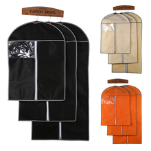 1 PCS Home Zippered Wardrobe Dustproof Clothing Dust Bags Garment Bag Clothes Suits Dust Cover Storage Protector