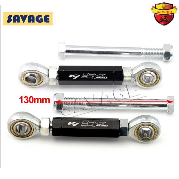 For SUZUKI SV 650 SV650 2000-2010 02 03 04 06 08 09 Motorcycle Rear Adjustable Suspension Drop Link Kits Lowering Links Kit<br>