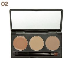 Waterproof Eyebrow Cake Powder Palette Brow Pow Eye Shadow Eye Brow Make Up Set Makeup Cosmetics Kit Hot TF(China)