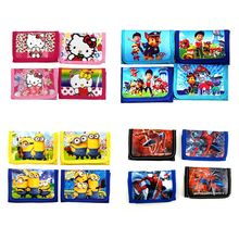 Children Cartoon Wallet Cute Patrol Dog Pokemon Zipper Change Coin Purse Small Money Purse Kids Girl Women Pouch Bolsa