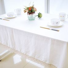 New  Catering Decor Tablecloth Covers Linen White Table Cloth for Wedding Banquet Party Hotel Home PL2