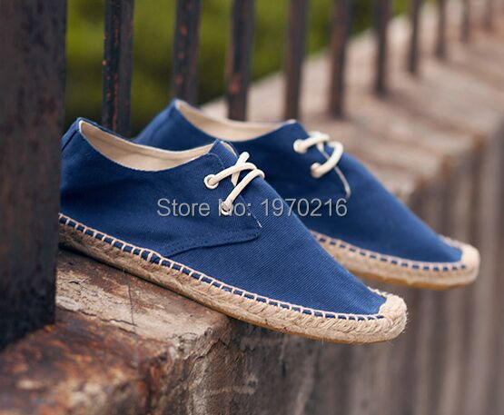 Breathable Spring Fall cotton Canvas Espadrilles Shoes Male Loafers,Brand Mens Linen Slip-on Casual shoes no sweat on your feet<br><br>Aliexpress