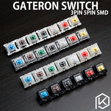 gateron switches 3pin 5pin blue red black brown  green white white green for custom mechnical keyboard xd64 xd60 eepw84 gh60