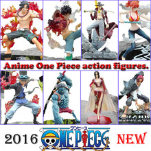 Japanese One Piece Action Ace Sabo LUFFY Anime Figure Zoro Action Figure Hancock Mihawk Fighting Nami Sanji Model Toy Onepiece(China)