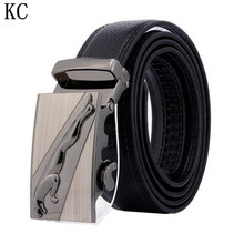 Buy 2017 Designer Automatic Buckle Cowhide Leather Male belt Fashion Luxury belts men designer belts Mens high Waistband for $9.76 in AliExpress store