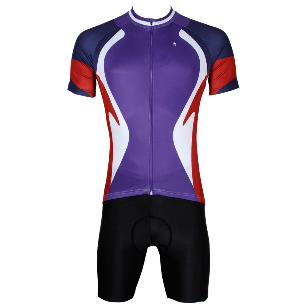 Cycling Jersey Men Funnel Purple Cycling Clothing Men High Quality Short Sleeve Mountain Bike Cycling Clothes Jersey Set X523<br><br>Aliexpress