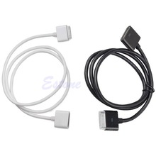 30 Pin Male To Female Dock Adapter Extender Extension Cable Cord For Iphone 4 4S(China)