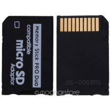 Mini Micro SD Card Adapter to MS Card, TF Card Reader Memory Stick, MS Pro Duo Adapter Converter Card Case MPJ037