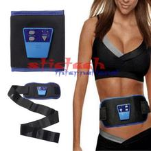 by ems or dhl  500sets Electronic Body Muscle Arm leg Waist Abdominal Massage Exerciser Toning Belt Slim Fit for Women For Men