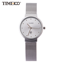 watches men business casual style quartz men wristwatch watch alloy strap analog display fashion brand(China)