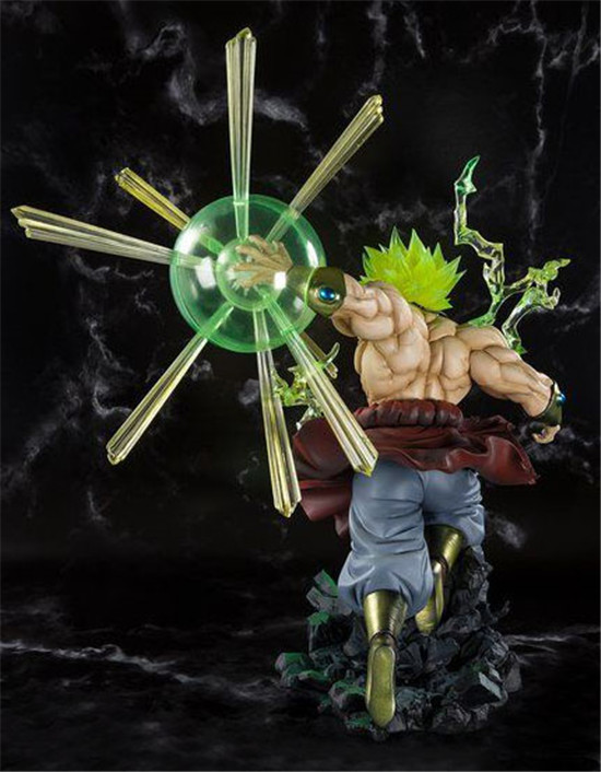 DRAGON BALL F ZERO Broli super Saiyan gleam Explosion PVC action figure(18)