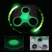 Night Light Hand Finger Spinner Fidget ABS EDC Hand Spinner Autism ADHD Relief Focus Anxiety Stress Toys Glows in The Dark
