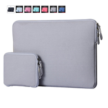 "Laptop Sleeve 15 1312"" Computer Bags Notebook Bag For Lenovo For Apple Laptop Cases MacBook Air 11 Case Portable Bags In Stock"