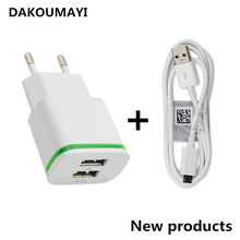 Universal USB Charger Adapter for HTC Touch Diamond  EU Mobile Phone Travel Charger 2A fast for HTC Touch Diamond