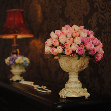 Feastival Decoration rose Flowers Good Quality Silk Flowers Rose Living Decorations Low Price Wholesale