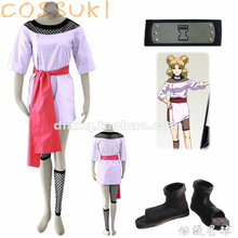 Free Shipping! Newest! Stock! Naruto Temari Childhood Full Set Cosplay Costume Suits ,Perfect Custom For you!