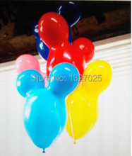 Free Shipping 5pcs mickey minnie ear Balloon Animal Balloon for party decoration kid's toy party baloons globos Children's Day