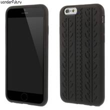 Wonderfultry Soft Cover Coque For iphone 3GS cases Tyre Style Silicone Case Capa for iPhone X 4s 5s 5c 6 6s 7 7plus 8 8plus T56